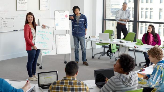 solutions verb classroom