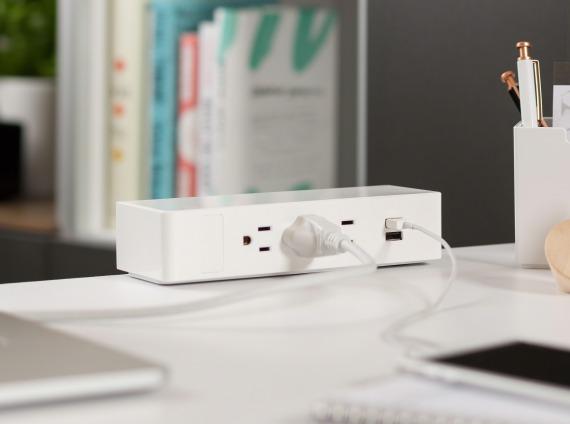 USB Powerstrips by Steelcase
