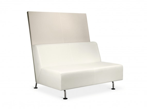 Bix Lounge System in white