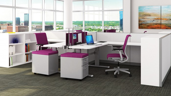 Kick Panel Systems by Steelcase