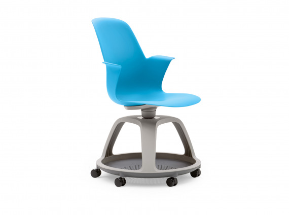 node chair on wheels