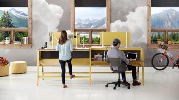 Bivi desks by turnstone