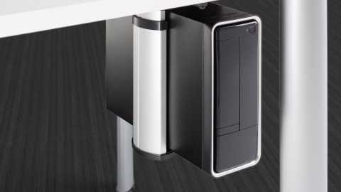 CPU Holder + Stands by Steelcase