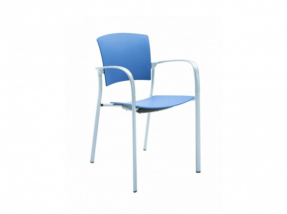 Enea Guest Stacking chair by Coalesse