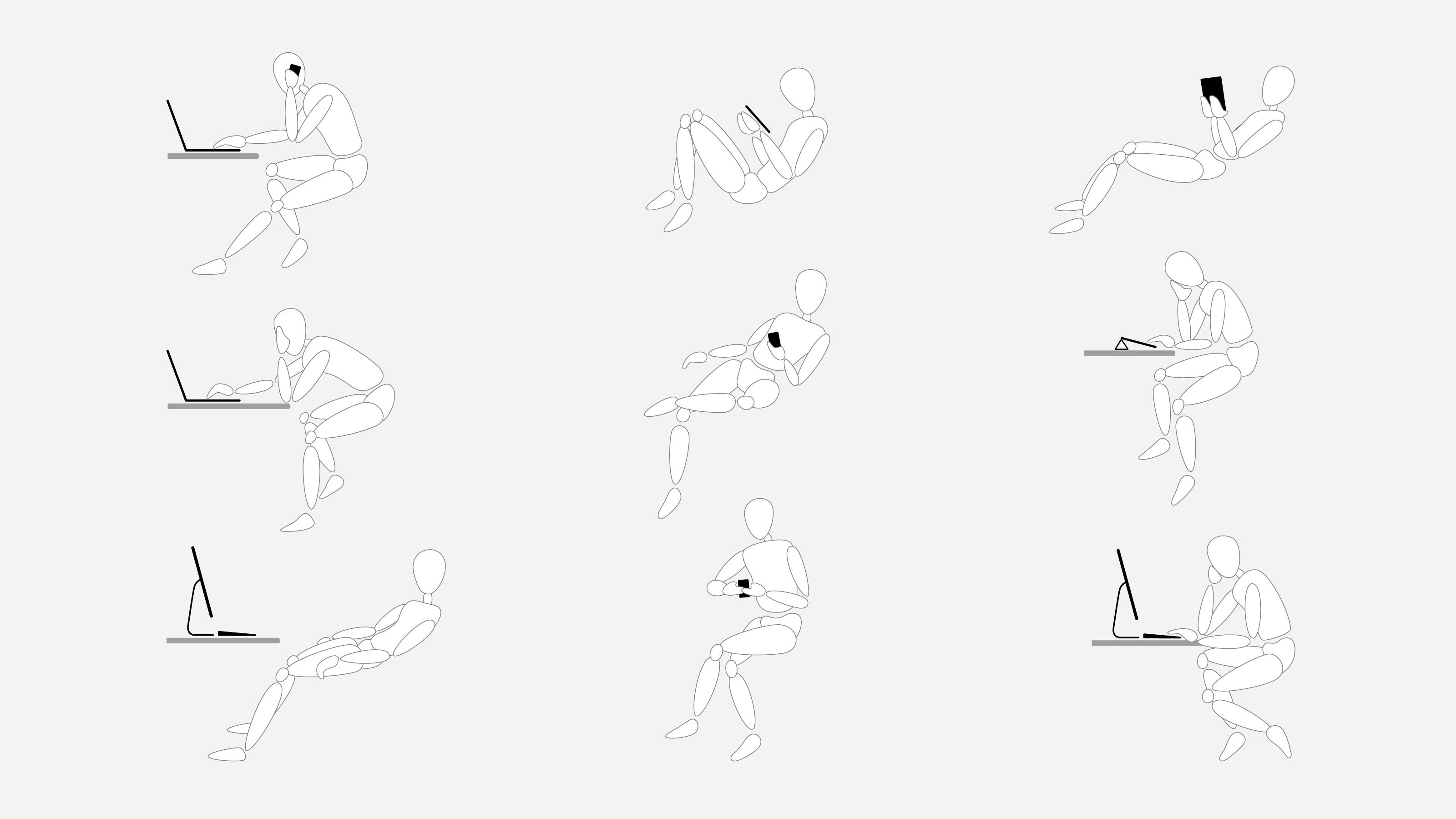 Gesture Global Posture Stud