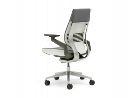 Gesture chair back view