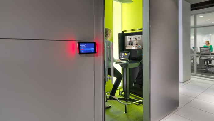 MediaScape + RoomWizard by Steelcase