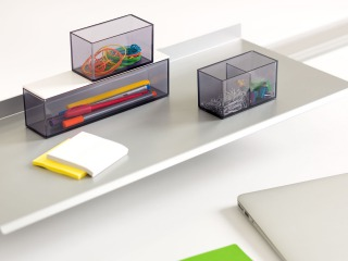 SOTO Shelf + Set of Boxes by Steelcase