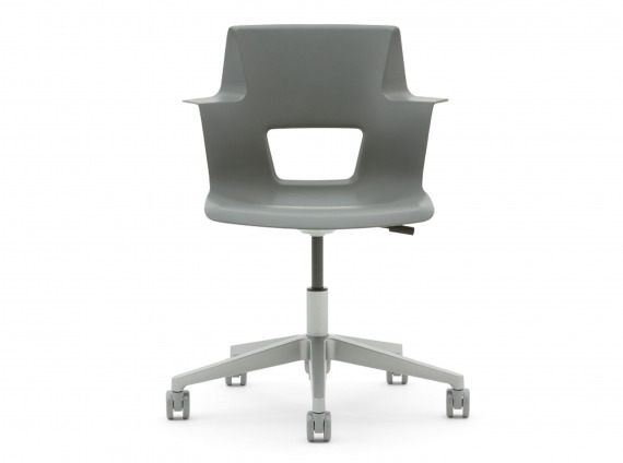 Shortcut chair on wheels