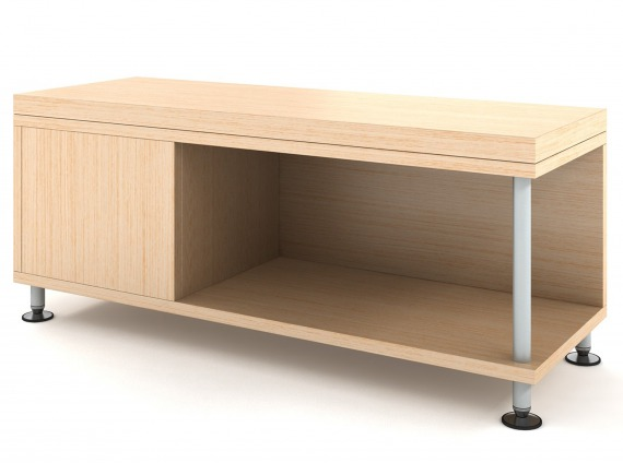 Sidewalk Storage and Tables by Coalesse a Steelcase brand