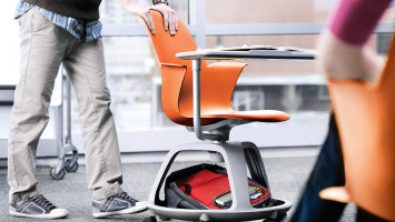 Node chair for classrooms