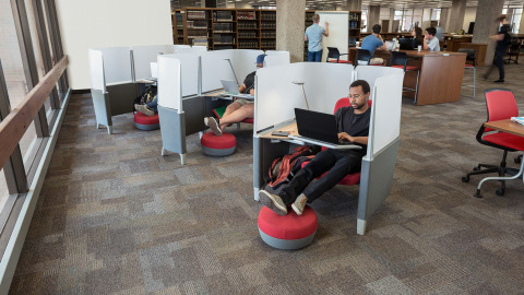 Learning Spaces – Libraries by Steelcase