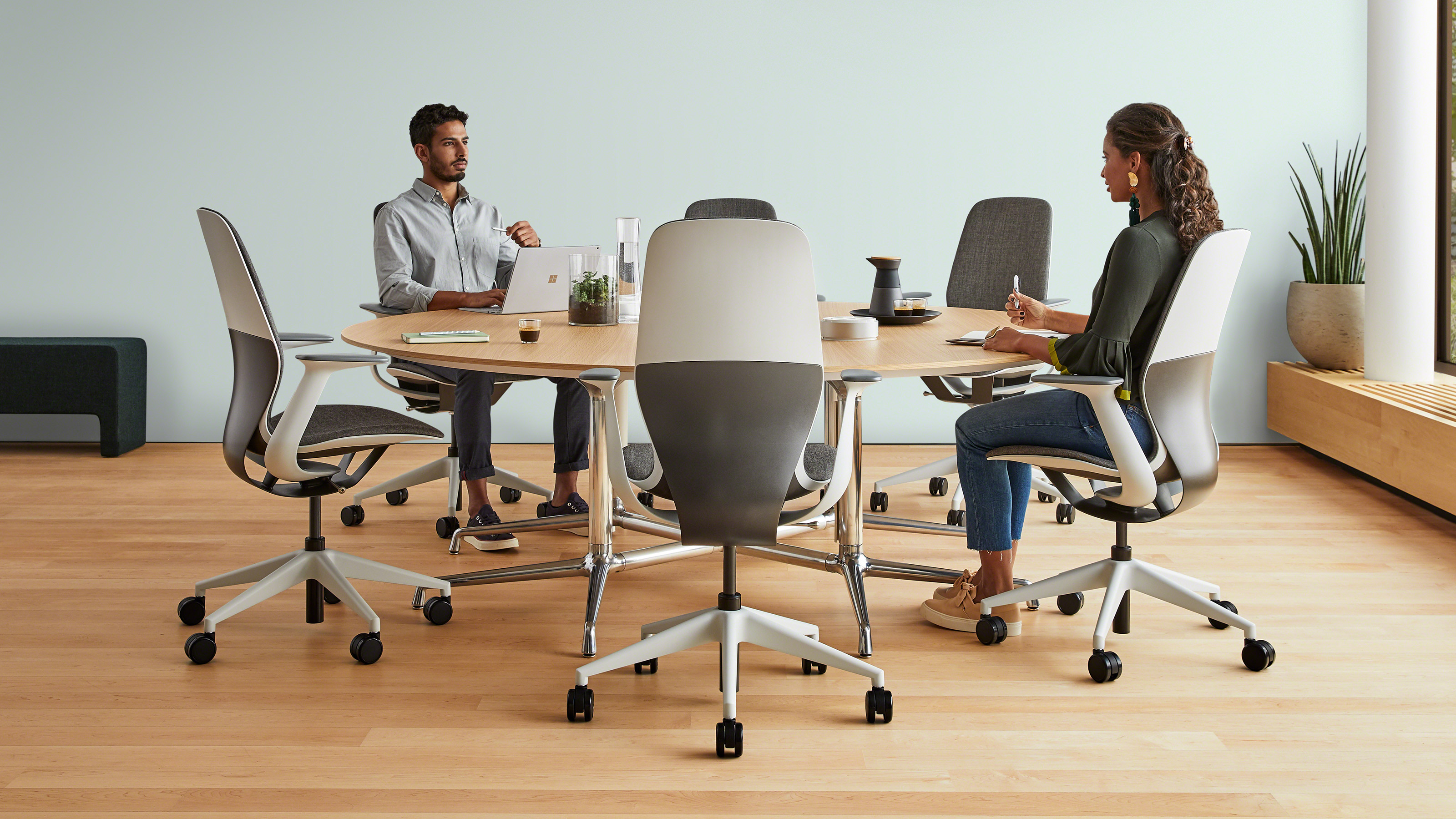 SILQ office chair from Steelcase