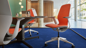 The SILQ office chair by Steelcase