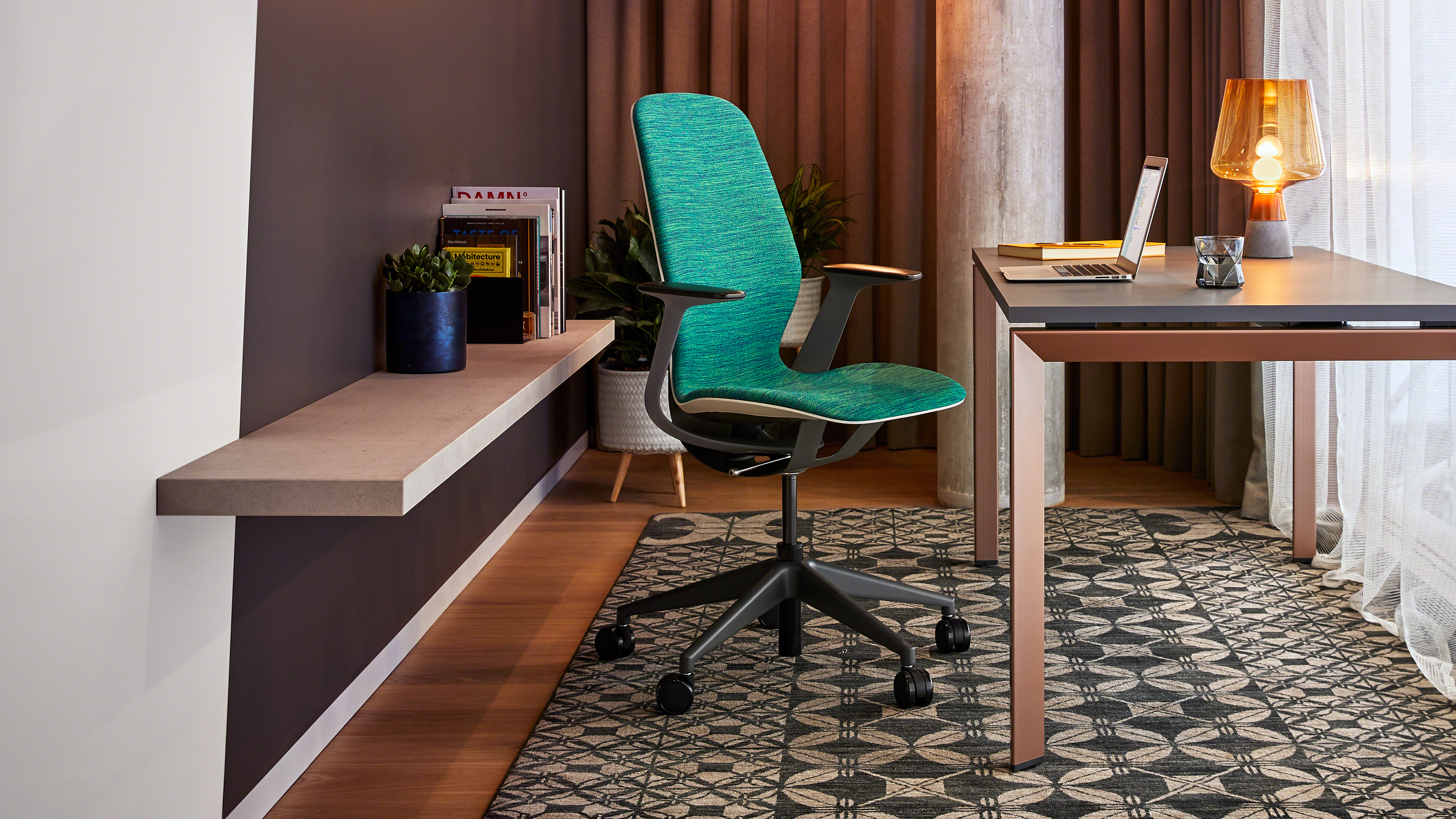 SILQ office chair by Steelcase is a breakthrough in seating design.