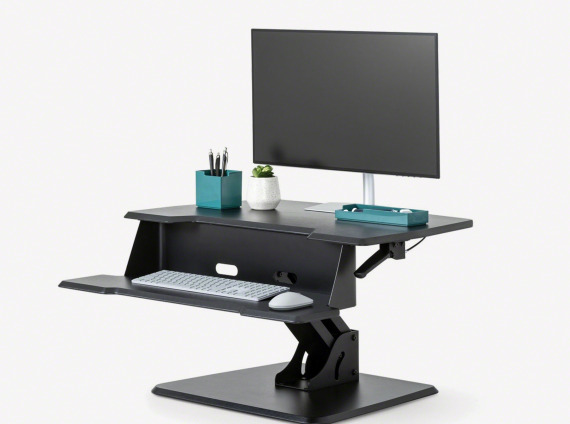 Steelcase Active Lift Riser - freestanding adjustable desk top