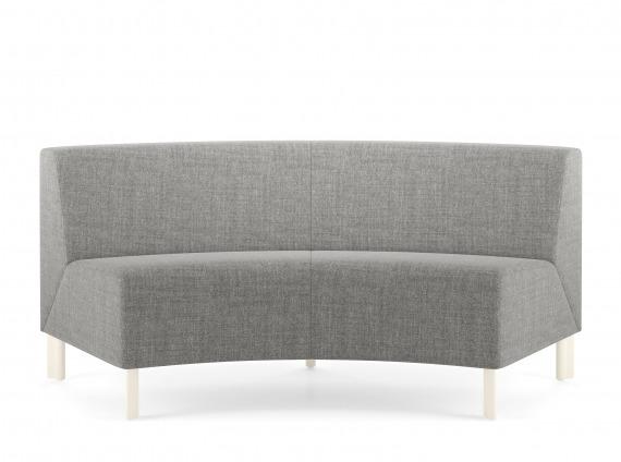 fabric corner seat