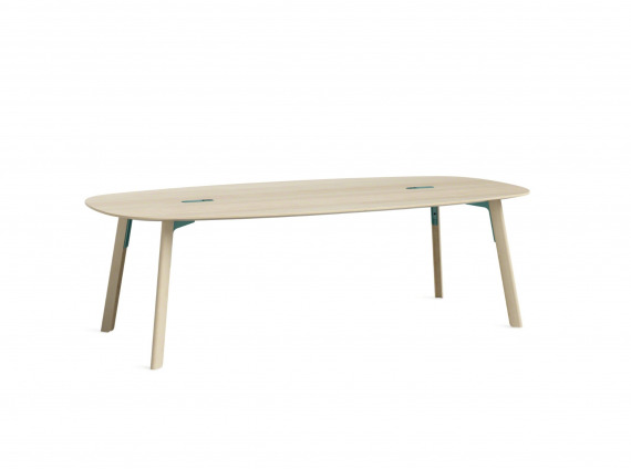 Softened Rectangle wood table