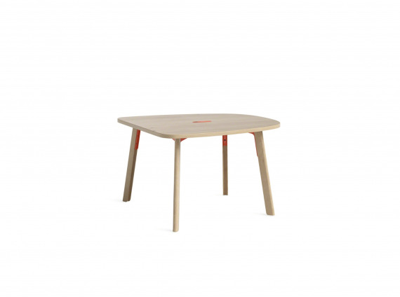 Softened Rectangle wood table small