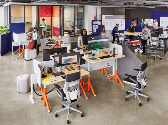 Steelcase flex office