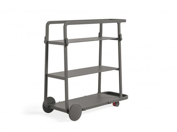 mobile cart on wheels