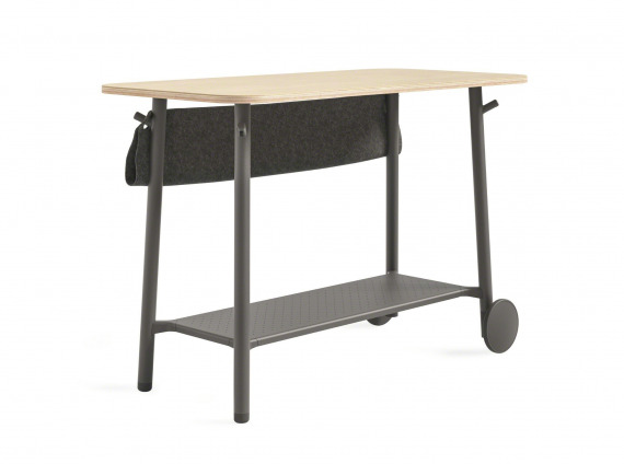 standing height slim table