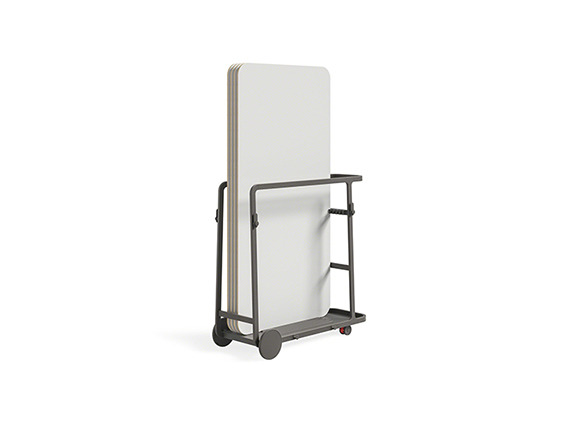 mobile marker board cart
