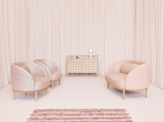 Bolia pink room