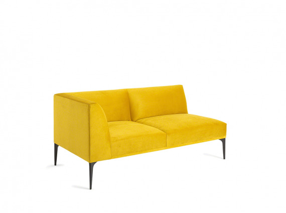 yellow sofa sectional
