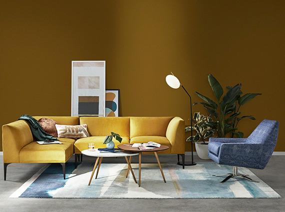 Enviroment image of West Elm lounge
