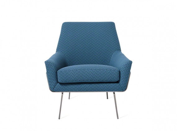 Blue guest chair