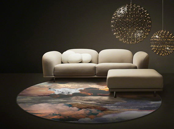 Moooi modern office with cool lights