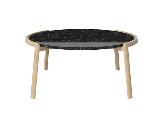 coffee table with black top