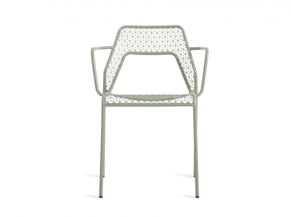 Hot Mesh Armchair in green