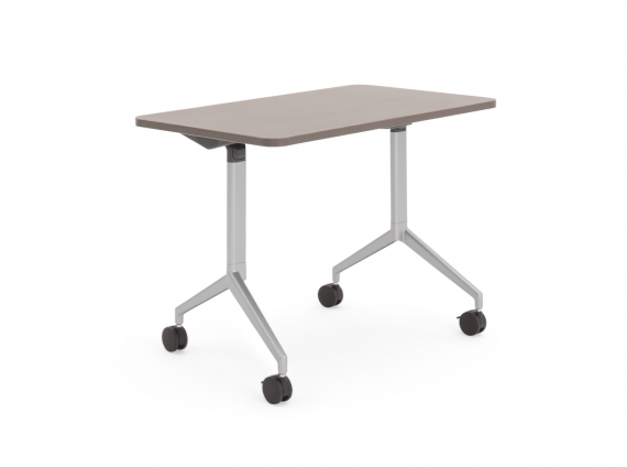 Groupwork Flip-Top Table on wheels
