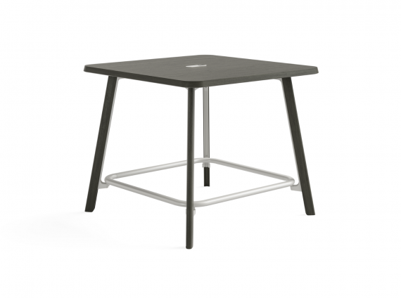 Verlay Standing Height Table in black