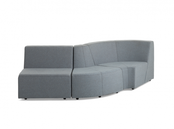 Campfire Lounge System in gray