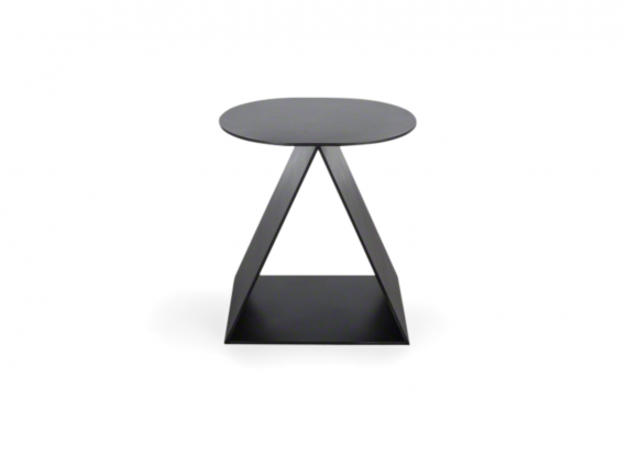 Tack Stool in black