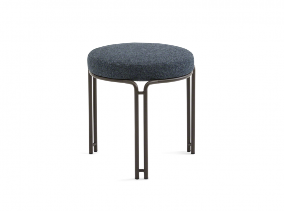 West Elm Work Charlie Stacking Stool in gray