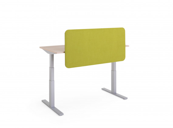 Sarto screens by Steelcase in green