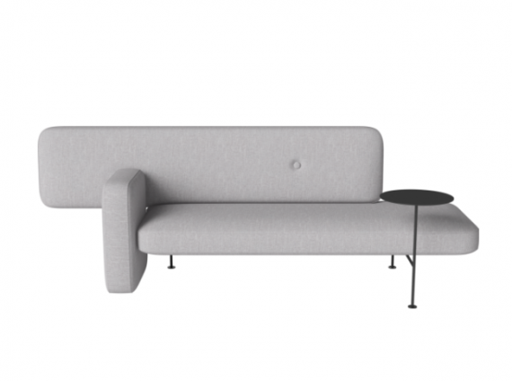 Pebble Sofa by Bolia in gray