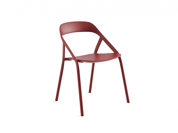 LessThanFive Chair by Coalesse in red