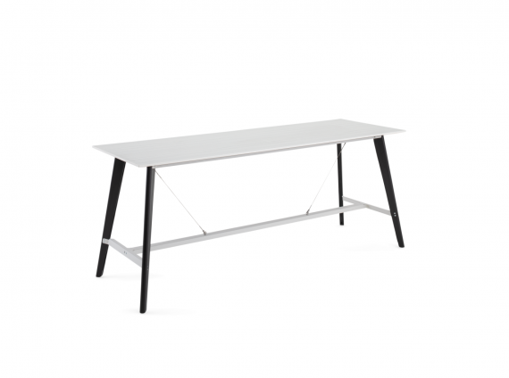 Cubb Table by Orangebox in white
