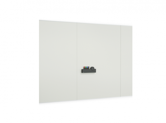 a3 CeramicSteel Flow white board by PolyVision
