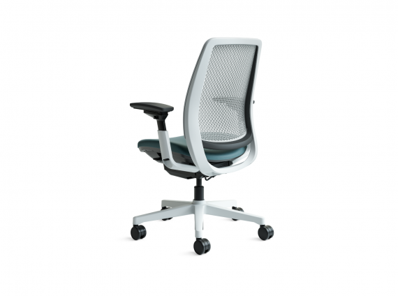 Amia Air Chair by Steelcase with wheels