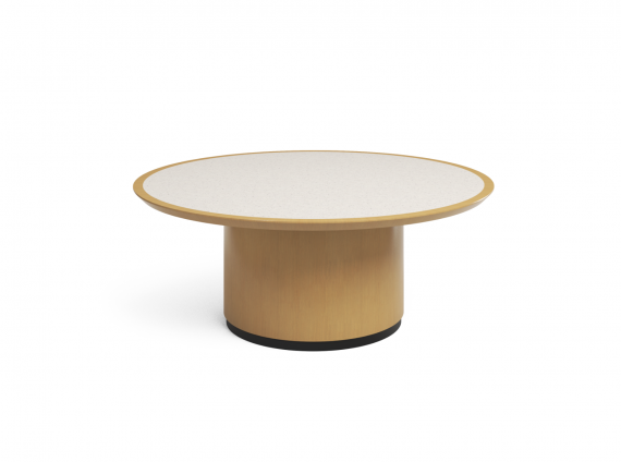 Convene Conference Table by Steelcase round