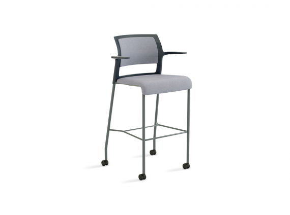 Move Stool by Steelcase with wheels
