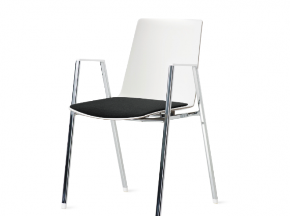 Steelcase Nooi Chair by Wiesner-Hager stackable