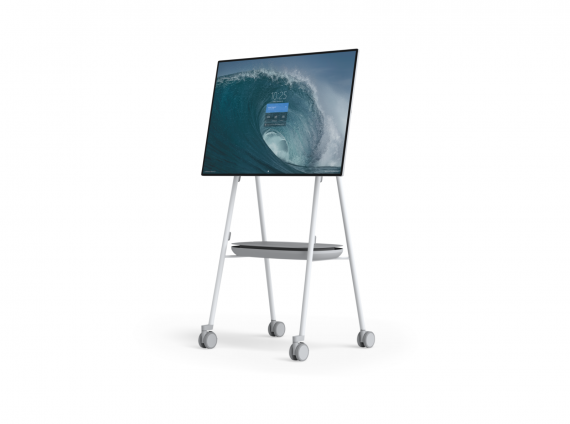Roam Mobile Stand by Steelcase for Surface Hub2