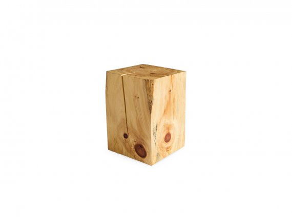 Block Side Table by Urban Tree wood